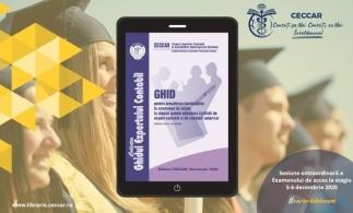 Ghidul pentru pregătirea candidaților la examenul de acces la stagiul pentru obținerea calității de expert contabil și de contabil autorizat, disponibil acum și în ediție electronică