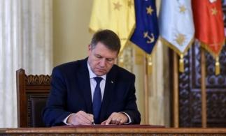 Preşedintele Iohannis a promulgat noua formă a Legii dării în plată