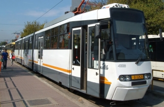 STB a extins banda unică pentru circulaţia autobuzelor pe linia de tramvai