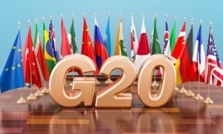 """Oficialii G20 vor face """"tot ce este necesar"""" pentru a sprijini economia globală şi stabilitatea financiară"""