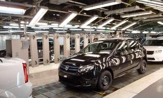 ACAROM: Producţia naţională de autoturisme a scăzut cu 10,67%, în 2020