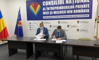 """Acord de colaborare între CNIPMMR și PMB pentru implementarea proiectului """"BUCHAREST BUSINESS AGENCY"""""""