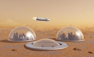 Primul oraş pe Marte va putea găzdui 250.000 de oameni