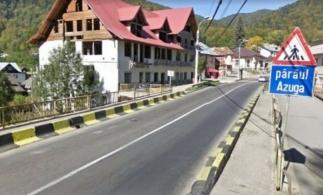 CNAIR: Încep lucrările la structura de rezistență a podului peste pârâul Azuga