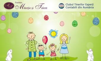 Ajută un copil fără părinți să zâmbească de Paști!