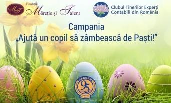 Clubul Tinerilor Experți Contabili din România – Ajută un copil să zâmbească de Paști!