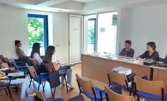 Filiala CECCAR Maramureș: vizita unor studenți ai Universității Tehnice din Cluj-Napoca – Centrul Universitar Nord Baia Mare