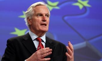 Fostul comisar european francez Michel Barnier, desemnat negociator al CE pentru Brexit