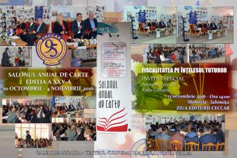 Filiala CECCAR Ialomița: Ziua Editurii CECCAR în cadrul celei de-a XXV-a ediții a Salonului Anual de Carte