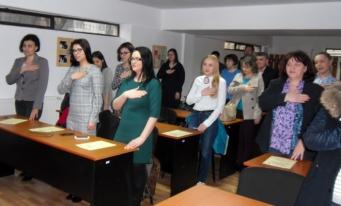 CECCAR Vrancea: O nouă promoție de experți contabili și contabili autorizați a depus jurământul