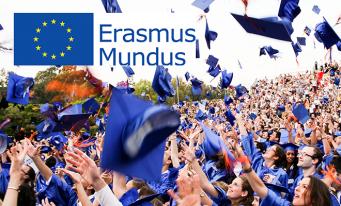 În 2018, 40 de masterate noi în programul Erasmus Mundus