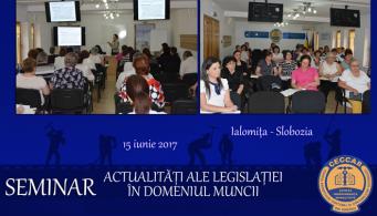 CECCAR Ialomița: Actualități ale legislației în domeniul muncii