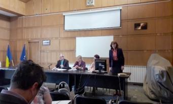 Întâlnire a membrilor filialei Vâlcea cu specialiști ai AJFP