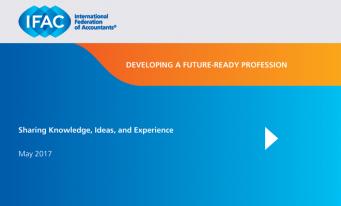 Raport IFAC: Dezvoltarea unei profesii adaptabile