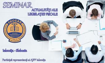 CECCAR Ialomița: Seminar dedicat legislației din domeniul fiscal