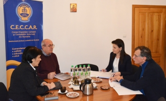 CECCAR Ialomița: întâlnire de lucru cu Oficiul Registrului Comerțului