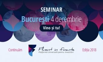BVB continuă programul Fluent în Finanțe. Nouăseminarii gratuite pentru promovarea investițiilor în piața de capital