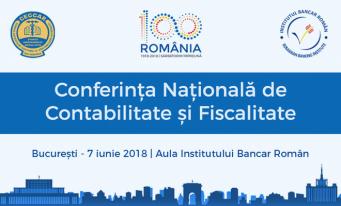 Conferința Națională de Contabilitate și Fiscalitate