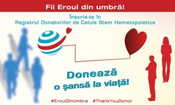 Campanie de înscriere online în Registrul Donatorilor de Celule Stem Hematopoietice