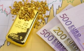 Rezervele internaţionale ale României (valute plus aur), 37,510 miliarde euro la 30 aprilie 2019