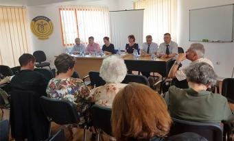 CECCAR Sibiu: Membrii GEJ, față în față cu beneficiarii expertizelor contabile judiciare, cu prilejul unei mese rotunde organizate de filială