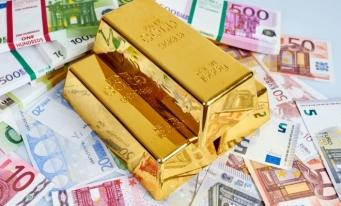 Rezervele internaţionale ale României (valute plus aur), 39,400 miliarde euro la 31 octombrie