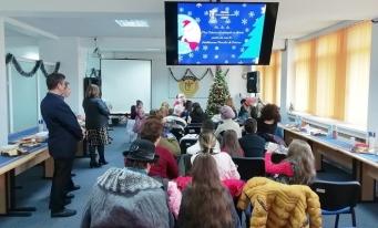 CECCAR Brăila: O vizită de la Moș Crăciun