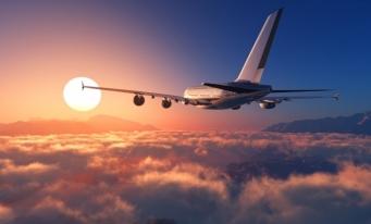 Transportul aerian de pasageri a scăzut cu 65%, în primele nouă luni din 2020