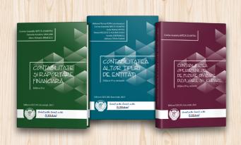 Noile ediții ale unor publicații dedicate stagiarilor CECCAR, disponibile la filialele Corpului