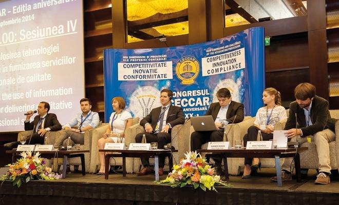 """""""Profesia contabilă în era digitală. Provocări și oportunități"""", 23-24 septembrie 2016"""