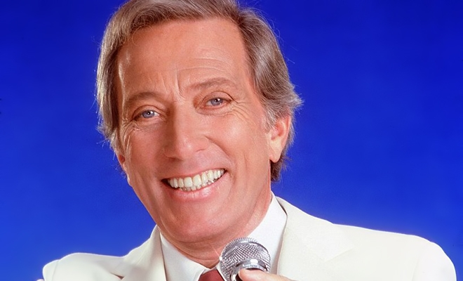 Andy Williams, performerul muzicii live la nivel mondial