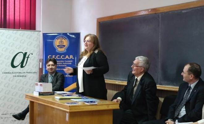 Filiala CECCAR Iași susține activitatea de cercetare științifică