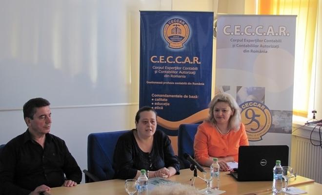 Filiala CECCAR Brăila: masă rotundă pe tema controlului activității agenților economici