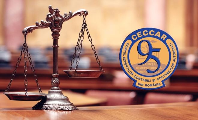 Filiala CECCAR Ialomița: proba cu expertiza contabilă în cauzele civile și penale