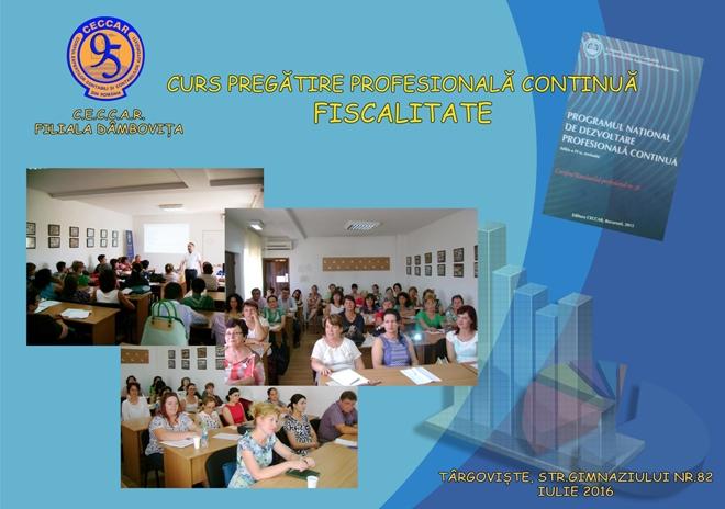 Filiala CECCAR Dâmbovița: Acțiune educativă pe teme fiscale