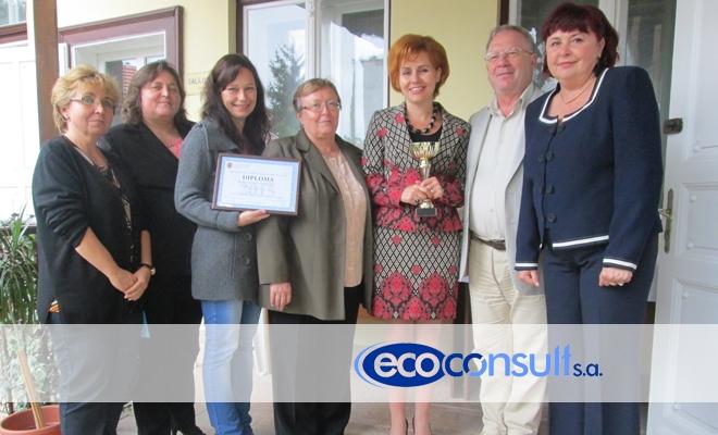 ECOCONSULT SA, din Târgu Mureș – Premiul special al anului 2015 în Topul local al celor mai bune societăți membre CECCAR, filiala Mureș