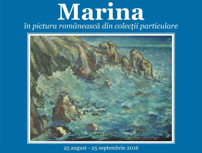 Expoziția Marina în pictura românească, la Muzeul Cotroceni