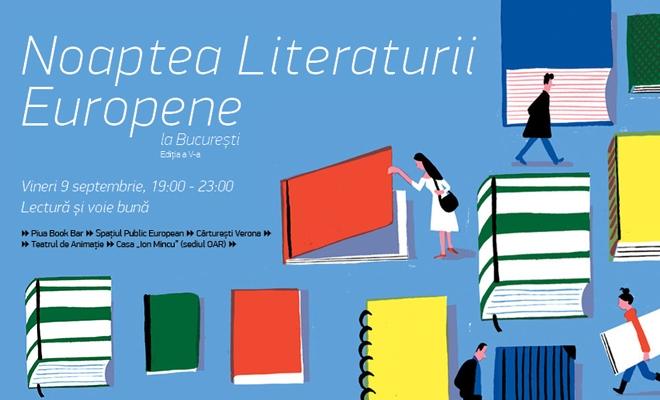 Noaptea Literaturii Europene la București