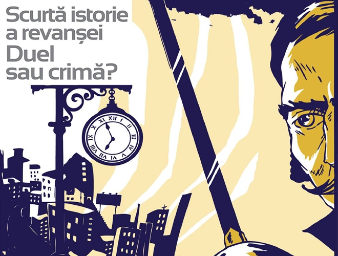 Povestea ultimului duel din istoria României, prezentată la Palatul Șuțu din București