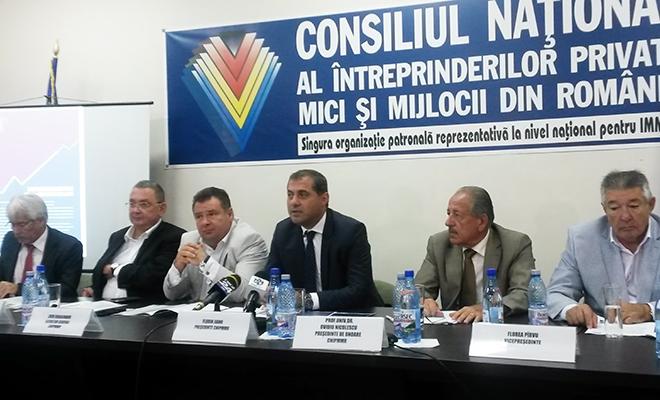 CNIPMMR a lansat Programul de guvernare 2016-2020 al mediului de afaceri