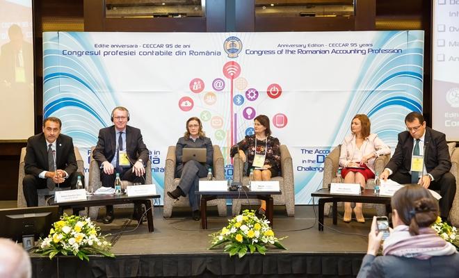 Sesiunea IV: Educația profesioniștilor contabili în economia digitală