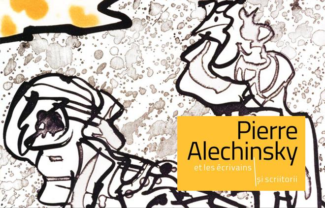 Expoziția Pierre Alechinsky și scriitorii, la Muzeul Național de Artă