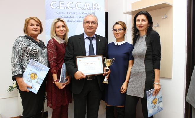 Auditor Financiar SARRA – Premiul special al anului 2016 în Topul local al celor mai bune societăți membre CECCAR, filiala Hunedoara