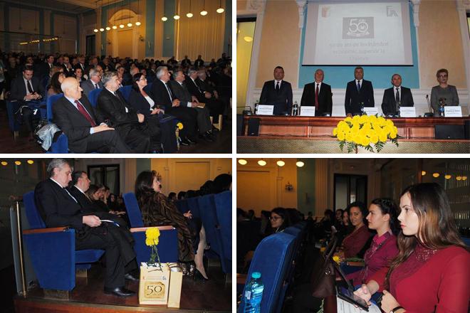 50 de ani de la înființarea Facultății de Economie și Administrarea Afacerilor, Universitatea din Craiova
