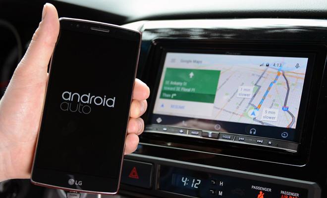 Google lansează Android Auto pentru smartphone-uri
