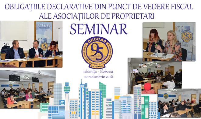 Filiala CECCAR Ialomița: Întâlnire cu reprezentanți ai AJFP pe tema obligațiilor ce le revin asociațiilor de proprietari