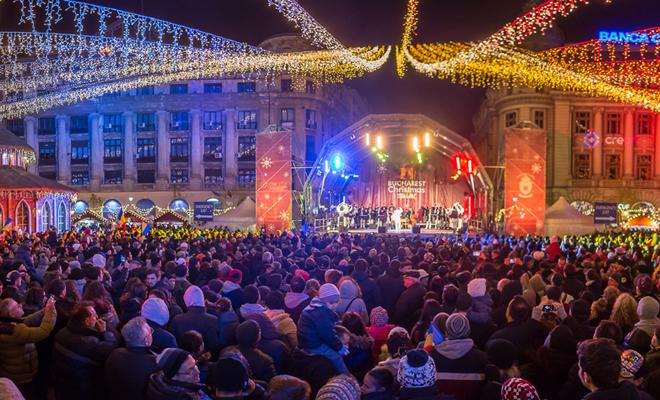 În Capitală se deschide Târgul de Crăciun