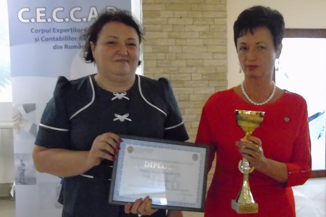 Contex Business – Premiul special al anului 2016 în Topul local al celor mai bune societăți membre CECCAR, filiala Satu Mare