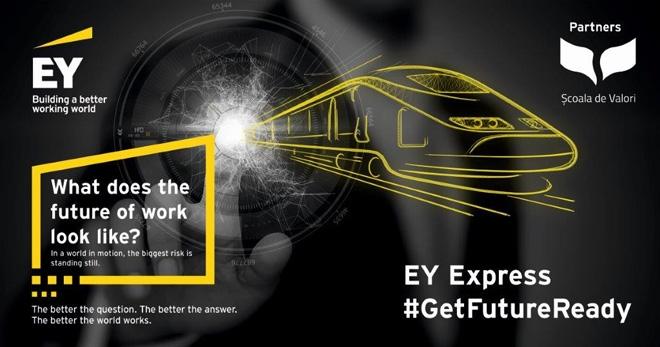 Au început înscrierile pentru programul EY Express – acceleratorul de carieră pentru piața de muncă a viitorului