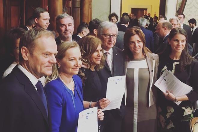 Întâlnirea reprezentanților UEAPME cu cei ai instituțiilor Uniunii Europene